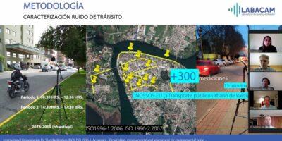 Investigación estima ruido vehicular de Valdivia a través de sus características urbanas